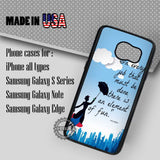 Element of Fun Mary Poppins - Samsung Galaxy S7 S6 S5 Note 5 Cases & Covers