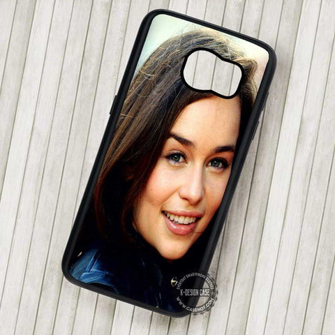 Emilia Clarke Game of Thrones - Samsung Galaxy S7 S6 S5 Note 7 Cases & Covers