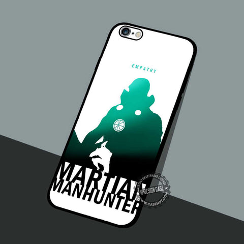 Empathy Martian Manhunter - iPhone 7 6 5 SE Cases & Covers