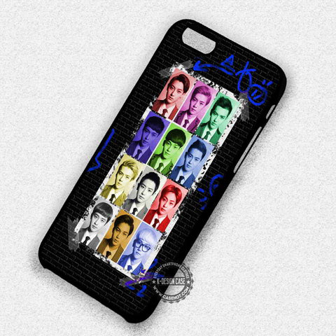 Exo Collage Boyband Korean Music - iPhone 7+ 6S 5 SE Cases & Covers