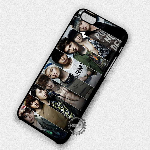 Collage Boyband Korean Music - iPhone 7+ 6S 5 SE Cases & Covers