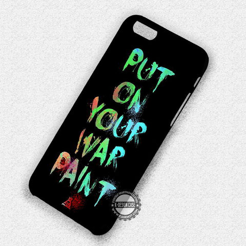 Put On Your War Lyric - iPhone 7 6 Plus 5c 5s SE Cases & Covers