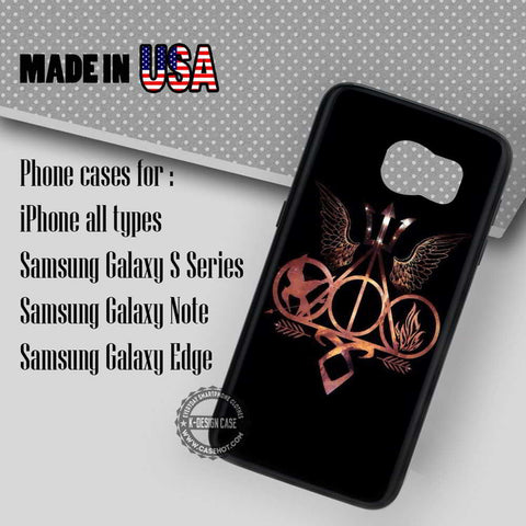 Famous Symbols Supernatural - Samsung Galaxy S7 S6 S5 Note 5 Cases & Covers
