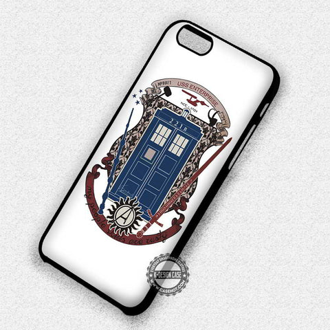 Fandom White Sherlock - iPhone 7 6 Plus 5c 5s SE Cases & Covers