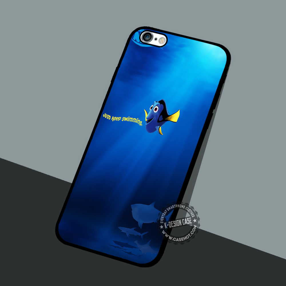 detailed look 59ebc e6f85 Nemo poster Keep Swimming - iPhone 7 6 5 SE Cases & Covers