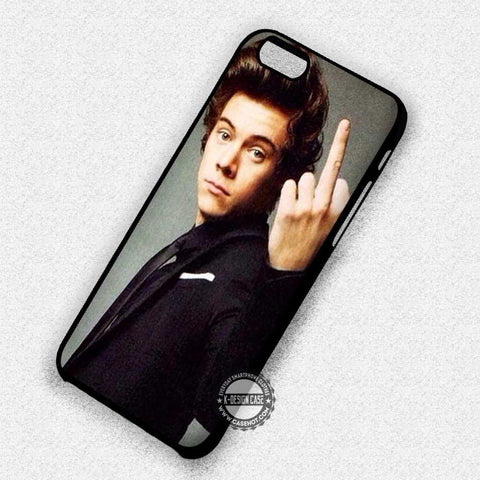 Flip Finger Harry Styles - iPhone 7 6 Plus 5c 5s SE Cases & Covers