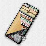 Floral Tribal Pattern - iPhone 7 6 Plus 5c 5s SE Cases & Covers
