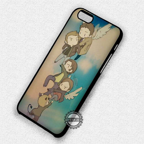 Flying Supernatural Winchester - iPhone 7 6 Plus 5c 5s SE Cases & Covers
