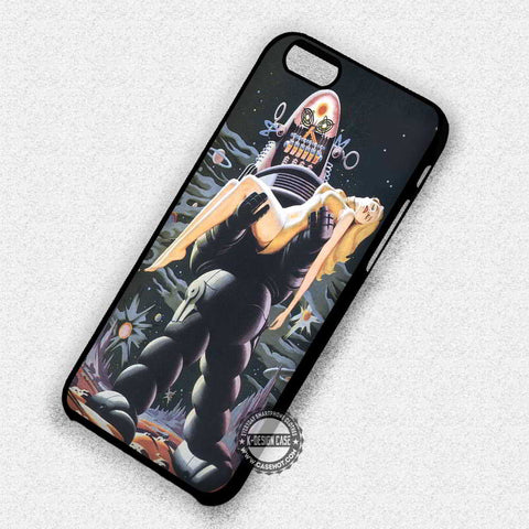 Forbidden Planet Robot - iPhone 7 6 Plus 5c 5s SE Cases & Covers