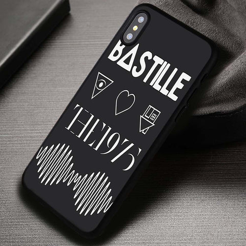 Four Rock Band Logo Bastille - iPhone X Case