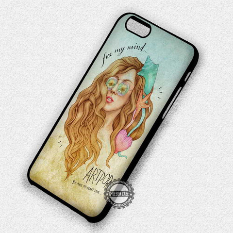 Free My Mind Lady Gaga - iPhone 7 6 Plus 5c 5s SE Cases & Covers