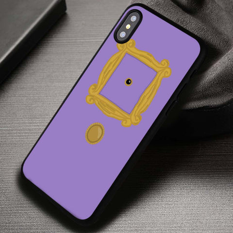 Friends TV Show Door Peep Hole Art - iPhone X Case