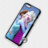 Anna and Elsa Hug - iPhone 7+ 7 6 6+ SE Cases & Covers