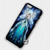 Frozen Elsa Stained Glass - iPhone 7+ 7 6 6+ SE Cases & Covers