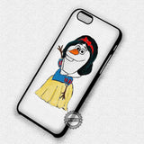 Olaf Snow White - iPhone 7+ 7 6 6+ SE Cases & Covers