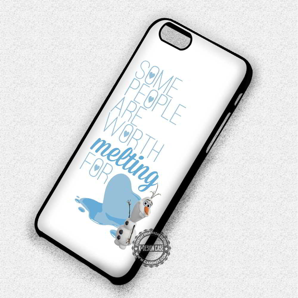 Some People Are Worth Melting For Frozen iphone case