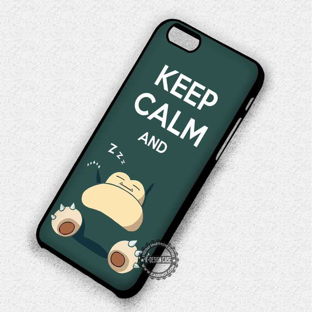 pokemon keep calm and sleep iphone case