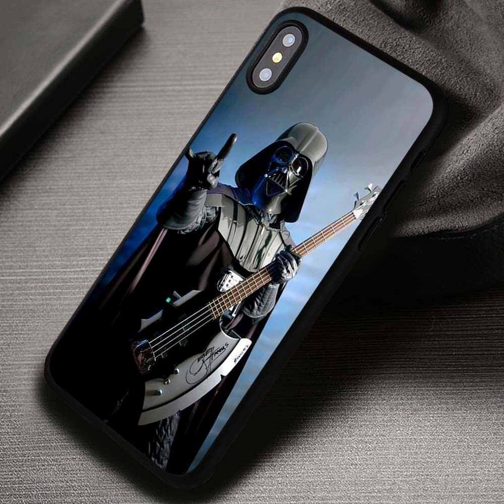 premium selection 06355 fffe2 Funny Star Wars Darth Vader Rock - iPhone X 8+ 7 6s SE Cases & Covers  #iPhoneX