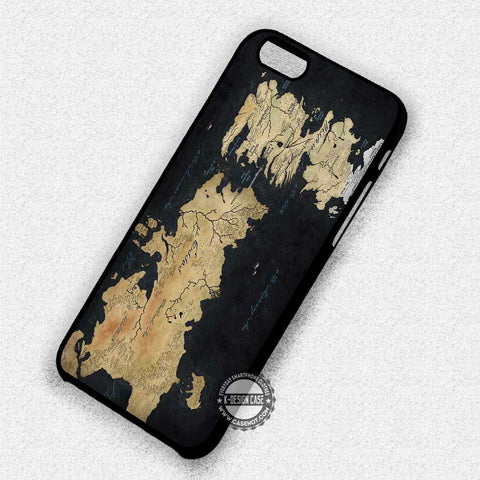 Game of Thrones Map - iPhone 7 6 Plus 5c 5s SE Cases & Covers