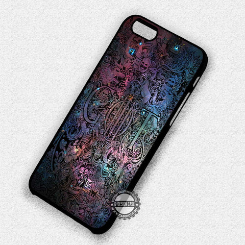 Collage Art Galaxy - iPhone 7 6 Plus 5c 5s SE Cases & Covers
