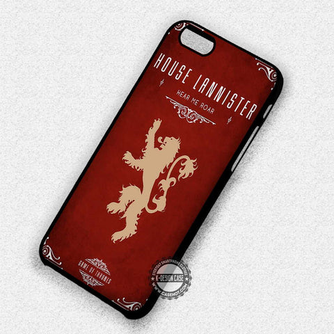House of Lannister - iPhone 7 6 Plus 5c 5s SE Cases & Covers