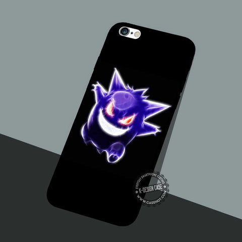 Gengar Pokemon Evolution - iPhone 7 6 5 SE Cases & Covers