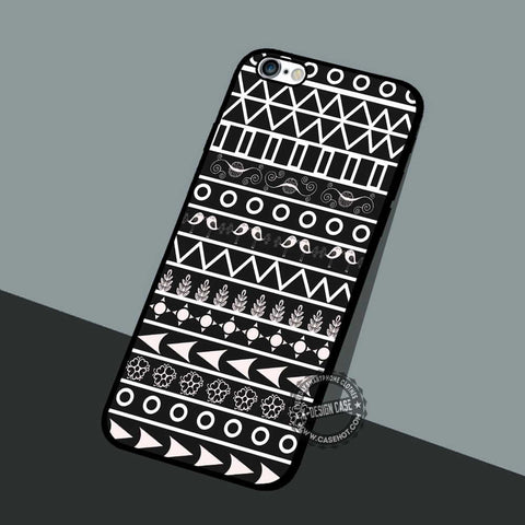 Geometric Chess Background - iPhone 7 6 5 SE Cases & Covers