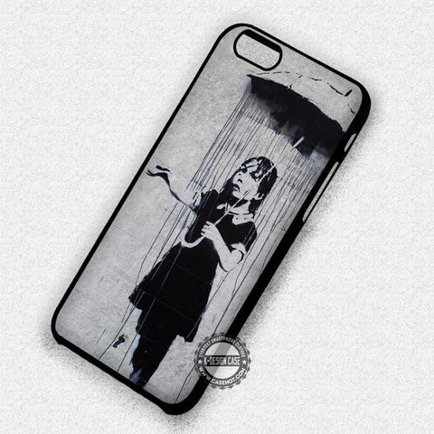 Girl in The Rain - iPhone 7 6 Plus 5c 5s SE Cases & Covers