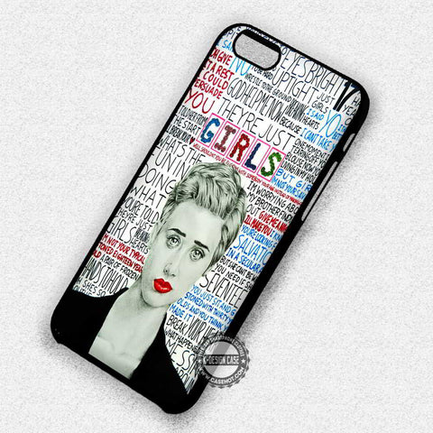 Girls Collage Lyric - iPhone 7 6 Plus 5c 5s SE Cases & Covers