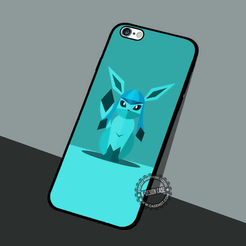 Glaceon Character Pokemon Go - iPhone 7 6 5 SE Cases & Covers