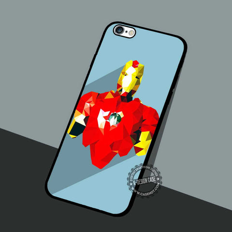 Glass Iron Man - iPhone 7 6 5 SE Cases & Covers