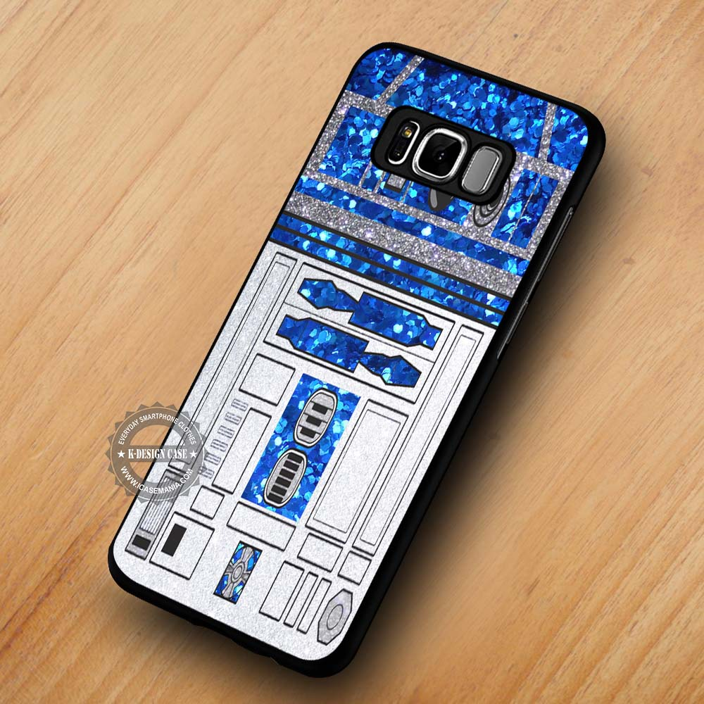 huge selection of 26d5c 562f4 Glitter R2D2 Star Wars - Samsung Galaxy S8 S7 S6 Note 8 Cases & Covers  #SamsungS8
