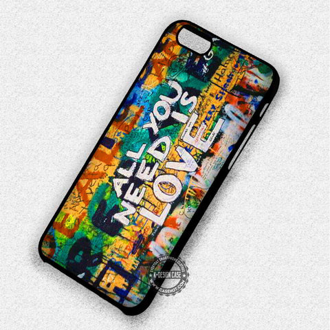 Graffiti Love The Beatles - iPhone 7 6 Plus 5c 5s SE Cases & Covers