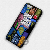 Grand Theft Tardis  - iPhone 7 6 5 SE Cases & Covers