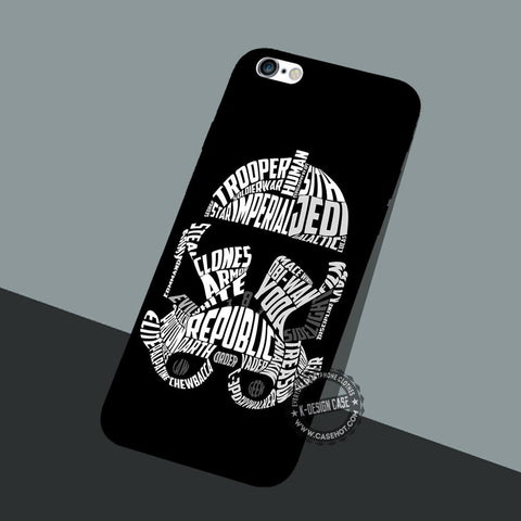 Graphic Storm Troopers - iPhone 7 6 5 SE Cases & Covers