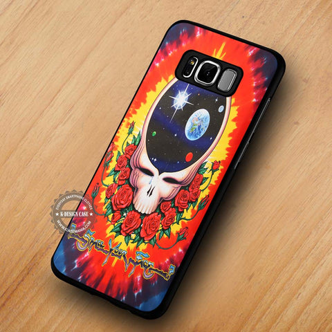 Grateful Dead Space Your Face - Samsung Galaxy S8 Case