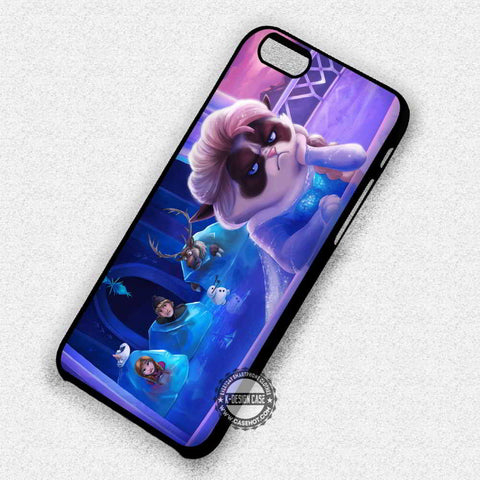 Grumpy Cat frozen - iPhone 7 6 Plus 5c 5s SE Cases & Covers