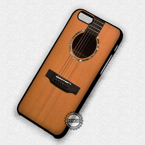 Guitar Accoustic Retro - iPhone 7 6 Plus 5c 5s SE Cases & Covers