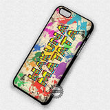 Hakuna Matata Aztec Paint - iPhone 7 6 Plus 5c 5s SE Cases & Covers