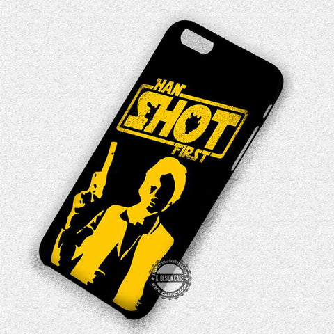 Star Wars Shot First - iPhone 7 6 Plus 5c 5s SE Cases & Covers