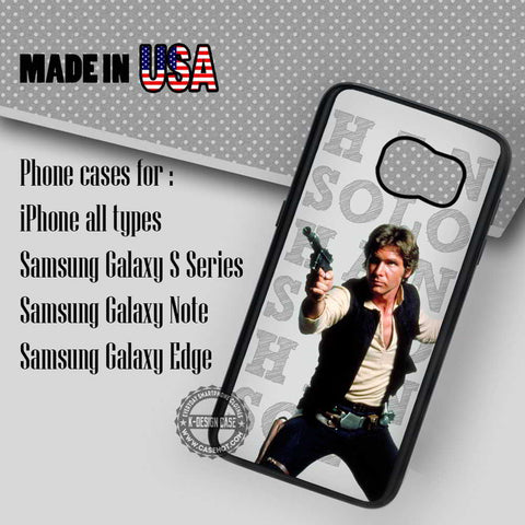 Han Solo Cell - Samsung Galaxy S7 S6 S5 Note 5 Cases & Covers