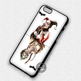 Harley Quinn and Joker Card - iPhone 7 6 Plus 5c 5s SE Cases & Covers