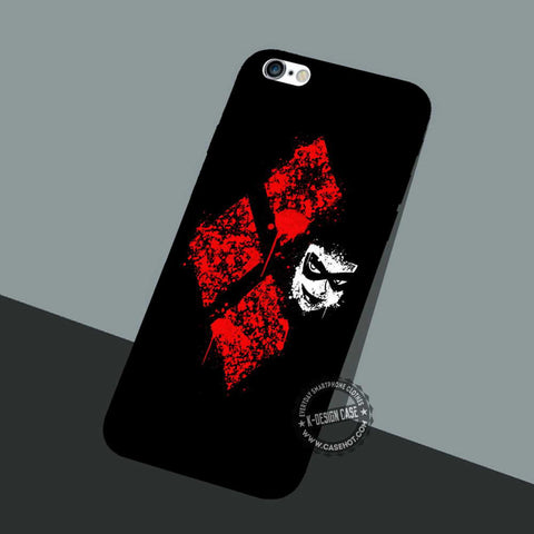 Harley Quinn Symbol - iPhone 7 6 SE Cases & Covers