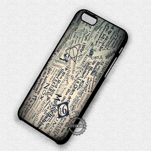 Harry Potter Collage - iPhone 8+ 7 6s SE Cases & Covers