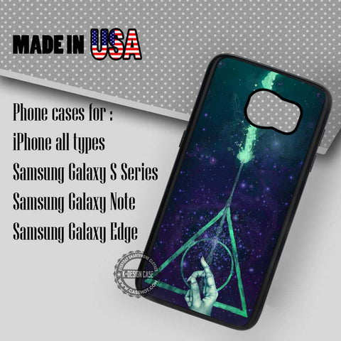Harry Potter Deathly Hallows - Samsung Galaxy S7 S6 S5 Note 5 Cases & Covers