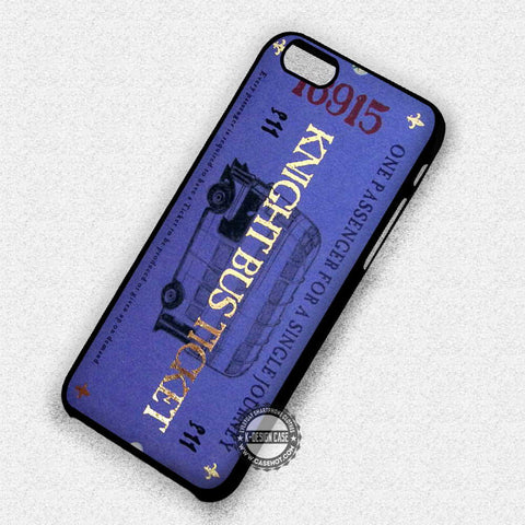 Knight Bus Ticket - iPhone 7 6 5 SE Cases & Covers