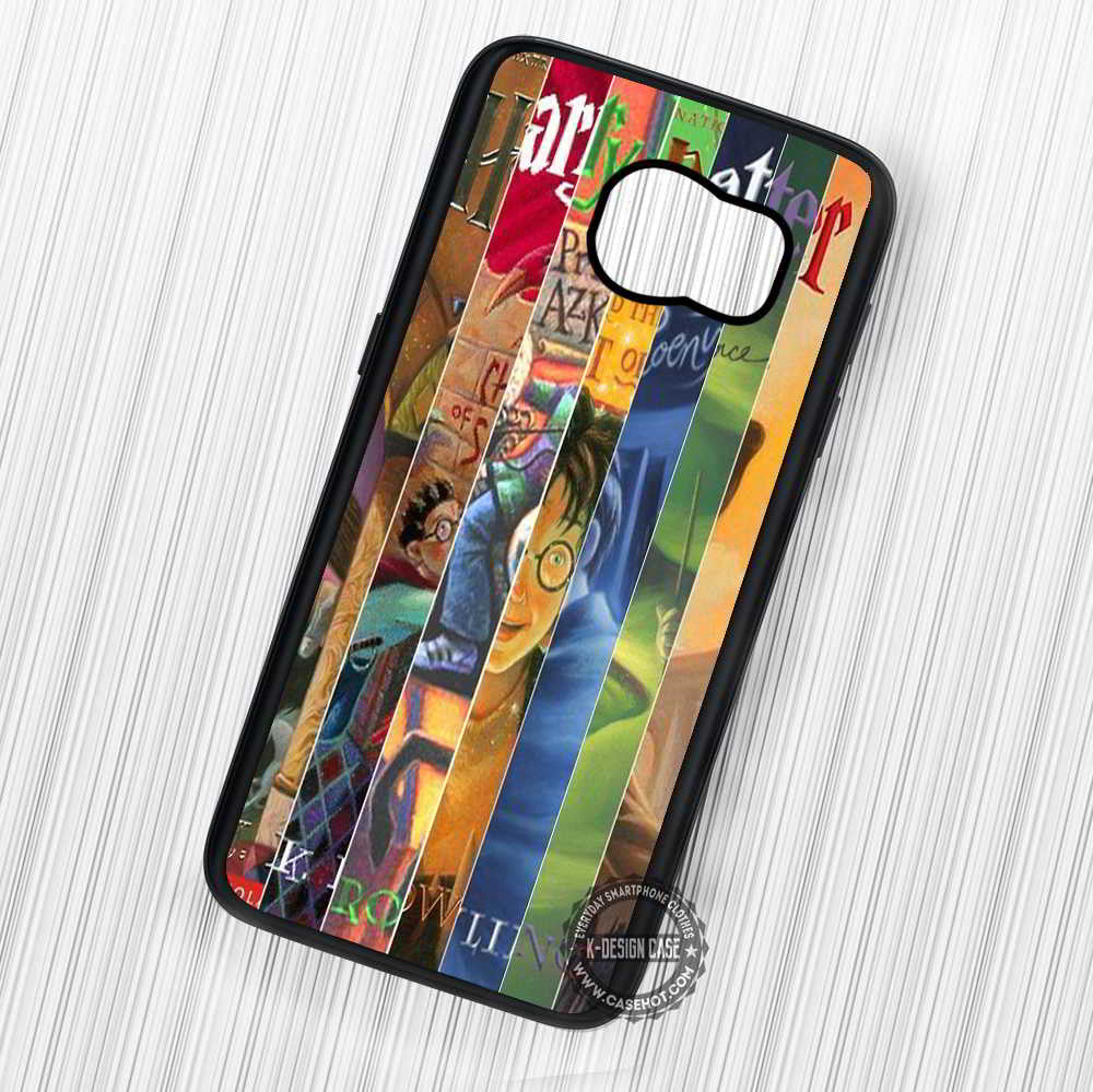 b7bc3f3db62 Harry Potter All Books Collage - Samsung Galaxy S7 S6 S5 Note 7 Cases –  samsungiphonecases
