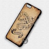 I Solemnly Swear - iPhone 7 6 Plus 5c 5s SE Cases & Covers