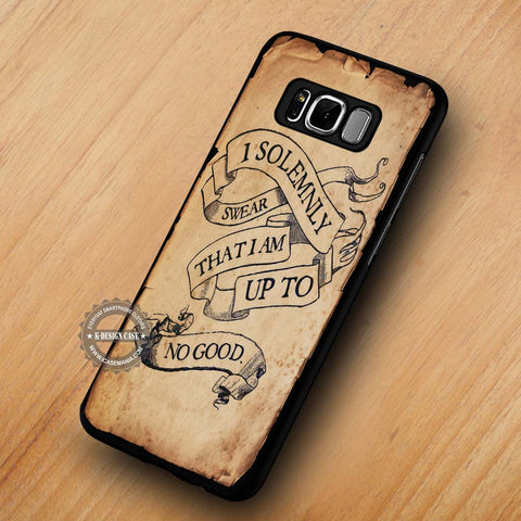 Harry Potter Quote I Solemnly Swear - Samsung Galaxy S8 case