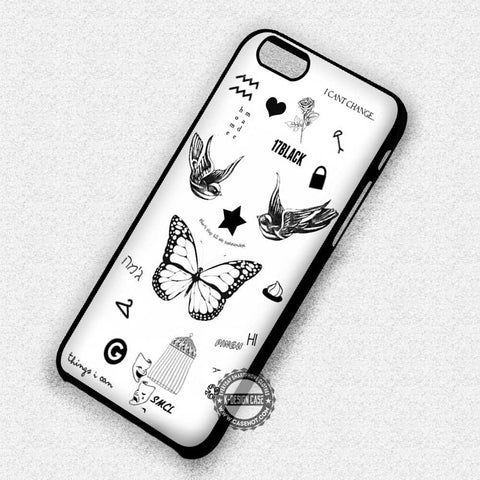 Harry Styles Bird Butterfly  - iPhone 7 6 Plus 5c 5s SE Cases & Covers